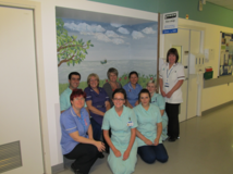 Bus stop helps with the care of ward patients with dementia