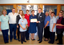 Ward team at Musgrove Park Hospital significantly reduce harm