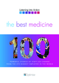 'The Best Medicine: 100 Powerful Stories of Staff-Led Change' from the NHS